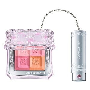 Jill Stuart apricot blush with brush set